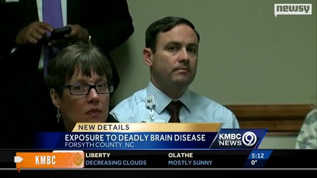 News video: 18 People Reportedly Exposed to Incurable Disease in N.C.