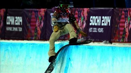 News video: Sochi 2014: Shaun White Fails to Medal in Halfpipe